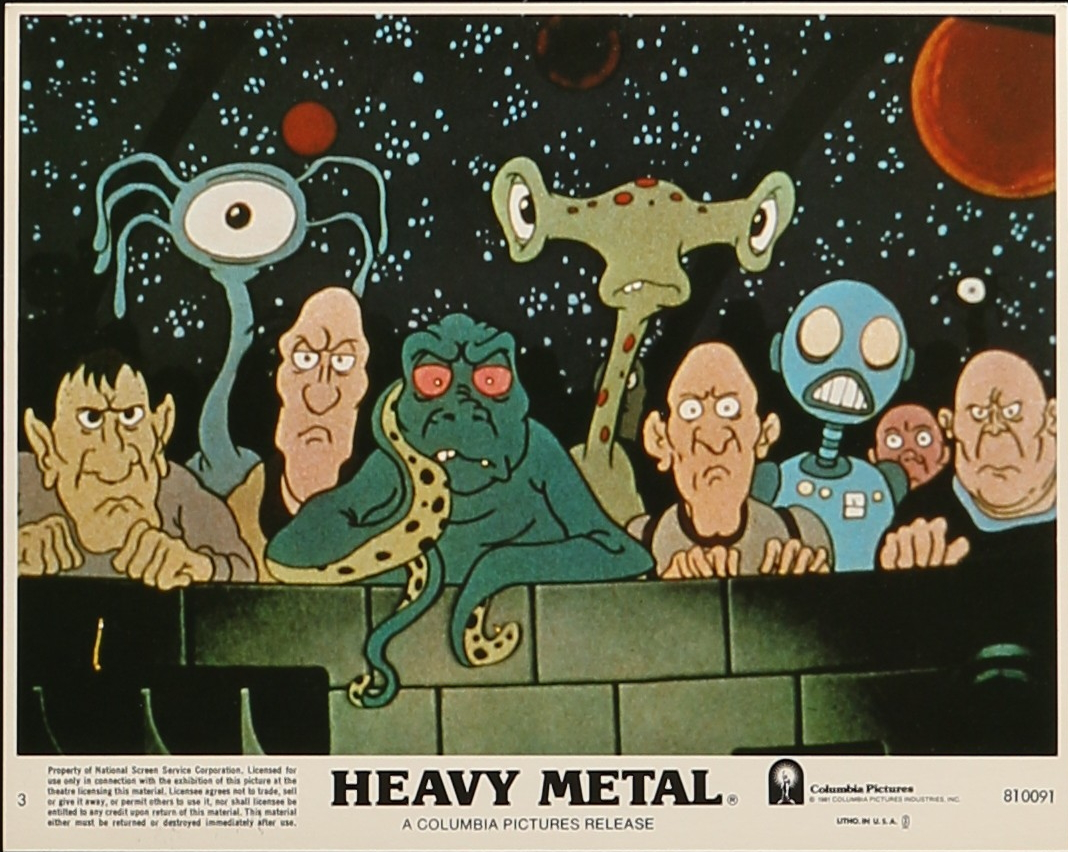Heavy Metal Animation Art Cels And Drawings At Gremlin Fine Arts