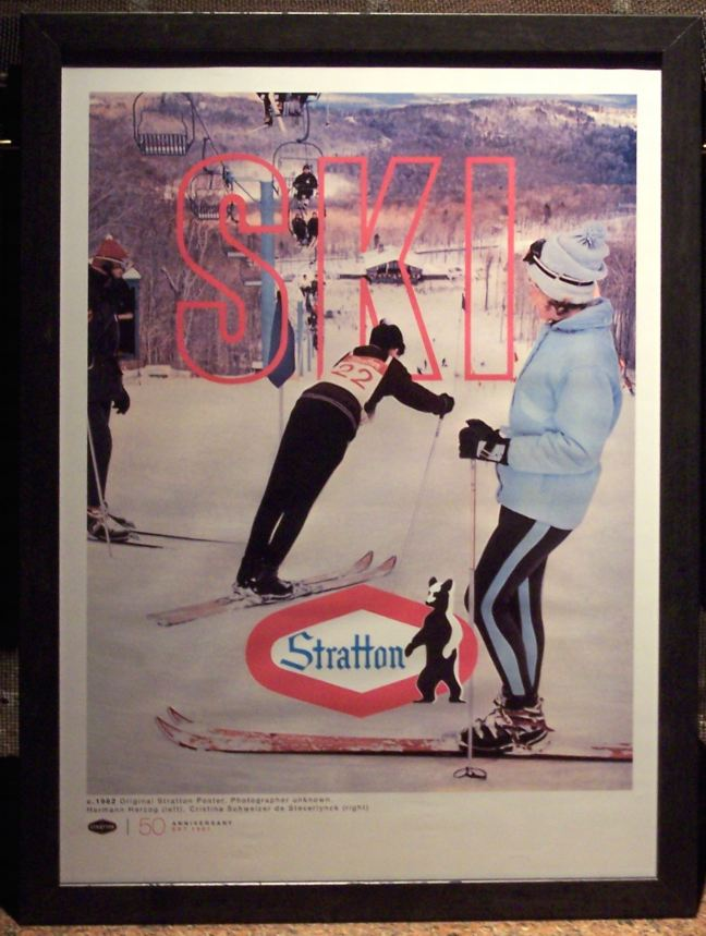 Stratton Original Ski Poster